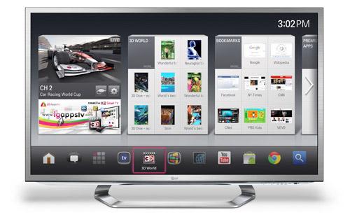 Google ya emite a través de televisiones