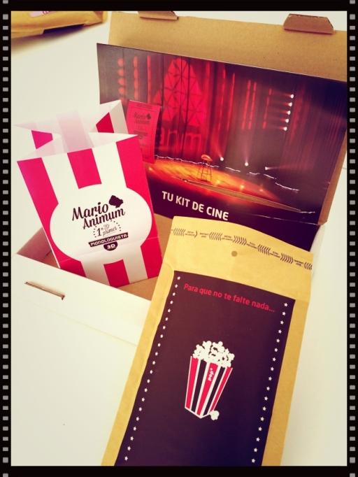 Packaging promocional de Mario Animum
